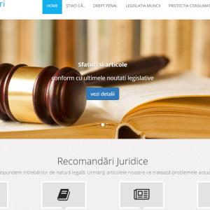 Recomandări Juridice