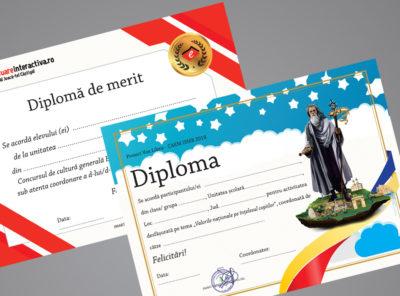 Diploma evaluare interactiva si Pergamis